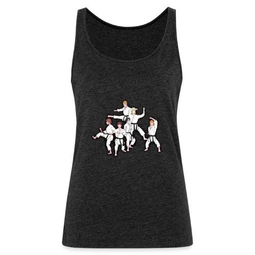 Karate - Women's Premium Tank Top