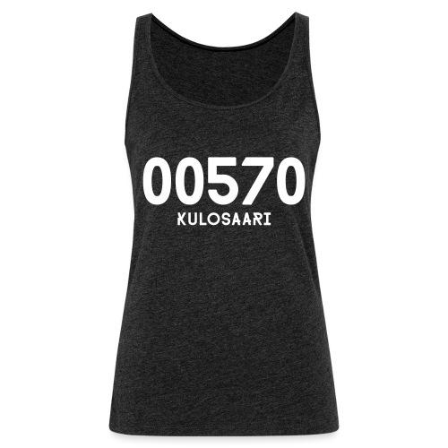 00570 KULOSAARI - Naisten premium hihaton toppi