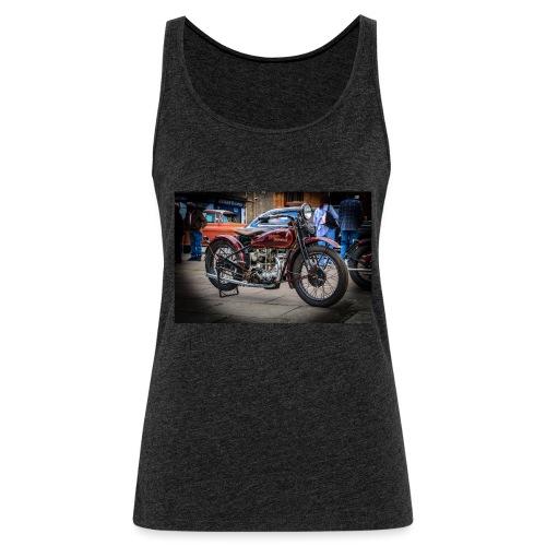 the motorbike davidon style - Women's Premium Tank Top