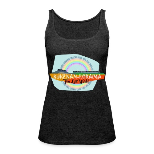 Roraima and Kukenan, The Lost World - Camiseta de tirantes premium mujer