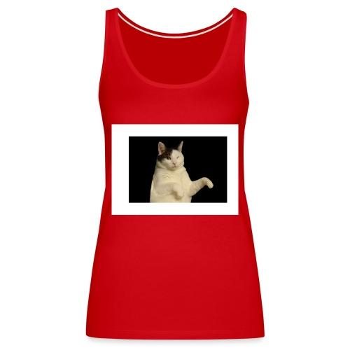 Kitty cat - Vrouwen Premium tank top