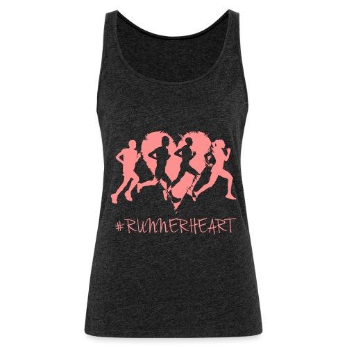 #Runnerheart Group - Frauen Premium Tank Top
