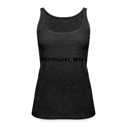 technology_web - Tank top damski Premium