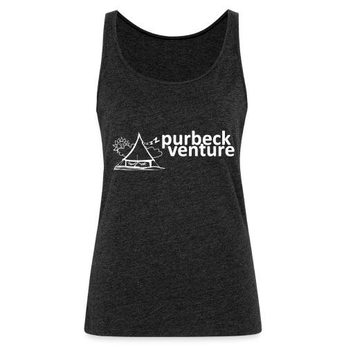 Purbeck Venture Sleepy white - Women's Premium Tank Top