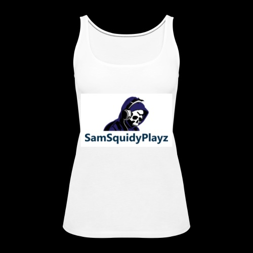 SamSquidyplayz skeleton - Women's Premium Tank Top