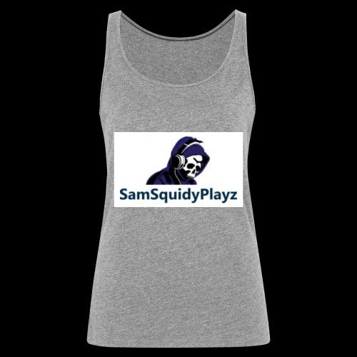 SamSquidyplayz skeleton - Women's Premium Tank Top