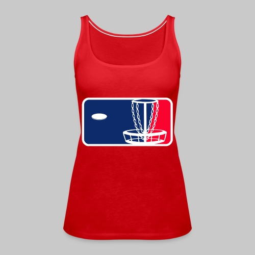 Major League Frisbeegolf - Naisten premium hihaton toppi