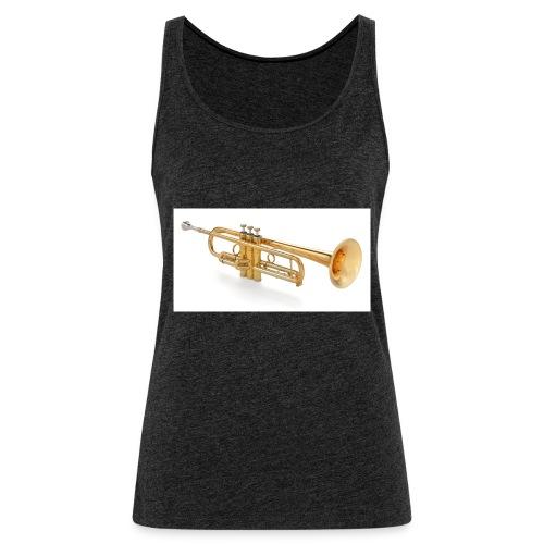 the trumpet - Frauen Premium Tank Top