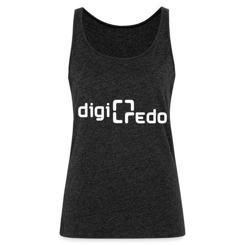 digiredo2 w - Vrouwen Premium tank top