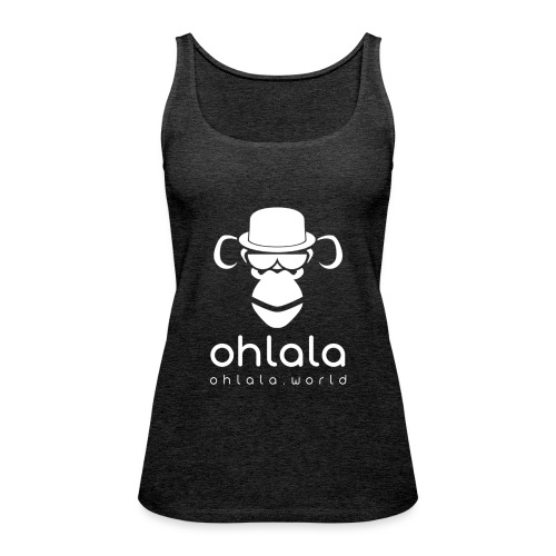 Ohlala Boss WHITE - Débardeur Premium Femme