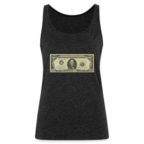 100 american dollars banknote - Frauen Premium Tank Top