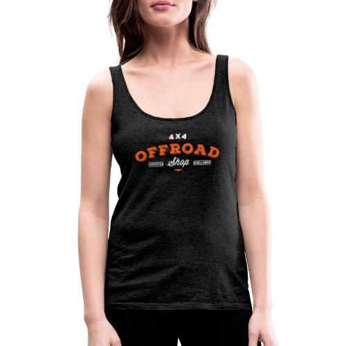 4x4 Offroad Shop logo V1 - Frauen Premium Tank Top