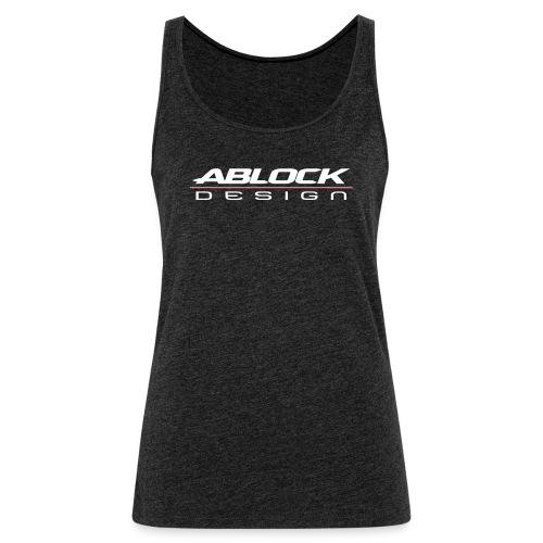 ABLOCK Design blanc - Débardeur Premium Femme