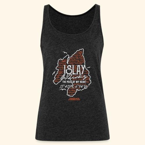 asting Notes Islay Whisky T Shirt Design - Frauen Premium Tank Top