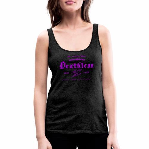 deathless living team violet - Frauen Premium Tank Top
