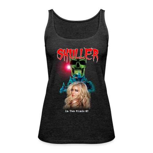 skuller in two minds 89' tour t shirt - Women's Premium Tank Top