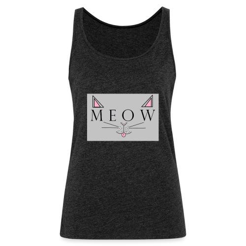 Meow - Women's Premium Tank Top