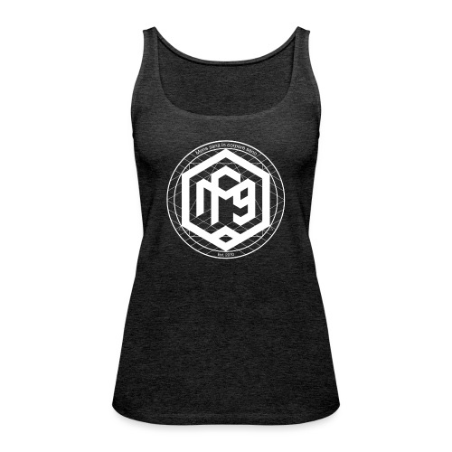 Mens sana white png - Women's Premium Tank Top