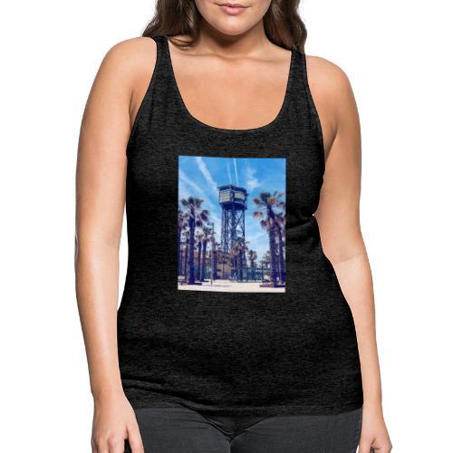 Beach BCN - Camiseta de tirantes premium mujer