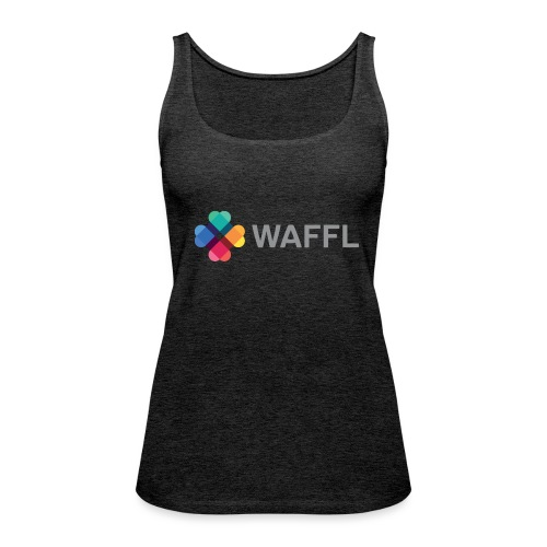 WAFFL_IMAGE_LOGO_NO_BG (3 - Women's Premium Tank Top
