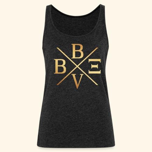 BVBE Gold X Factor - Women's Premium Tank Top