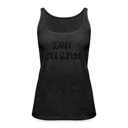 SCANDI (not gandhi) - Women's Premium Tank Top