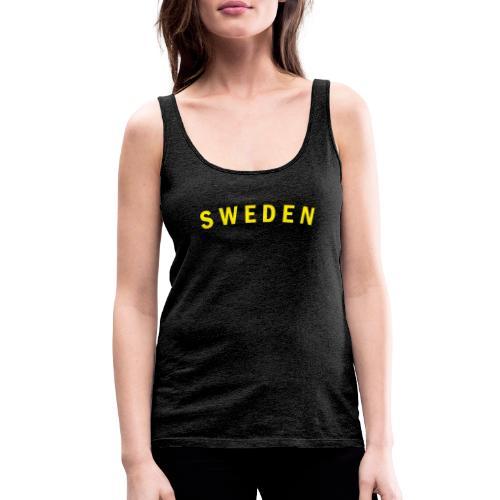 sweden - Premiumtanktopp dam