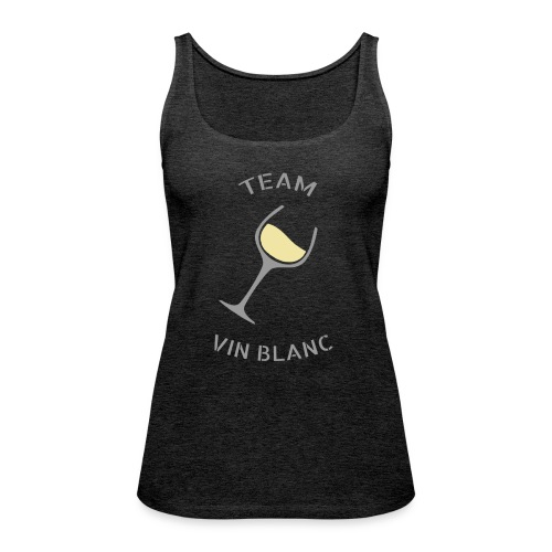 Team Vin Blanc - T-shirt - Débardeur Premium Femme