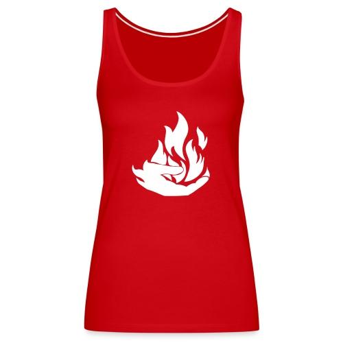 Flamekeeper logo - Vrouwen Premium tank top