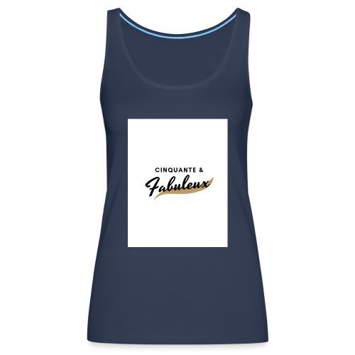 Cinquante - Débardeur Premium Femme