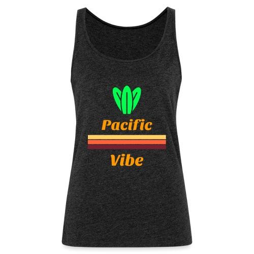 Retro Surf 60s | Pacific Vibe Cactus - Camiseta de tirantes premium mujer