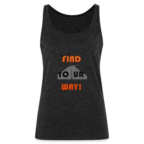 FIND - Camiseta de tirantes premium mujer