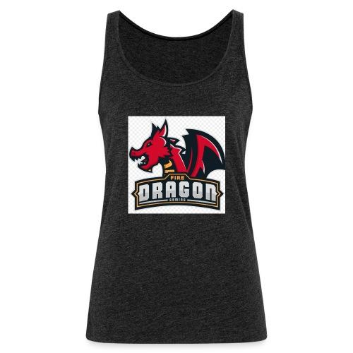 Logró dragón gaming - Camiseta de tirantes premium mujer