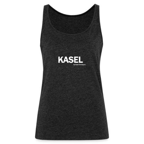 kasel - Camiseta de tirantes premium mujer