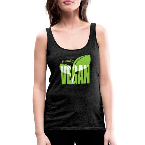 proudly vegan - Frauen Premium Tank Top