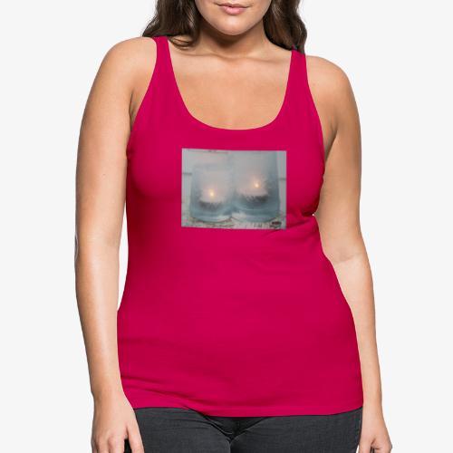 Selectie kaarslicht - Vrouwen Premium tank top