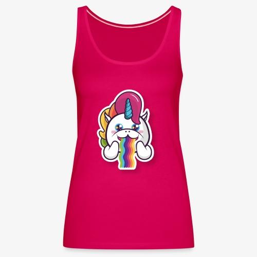 Funny Unicorn - Women's Premium Tank Top