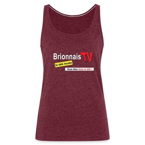 BTV logo shirt dos - Débardeur Premium Femme