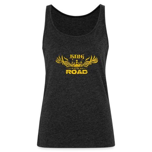 King of the road light - Vrouwen Premium tank top