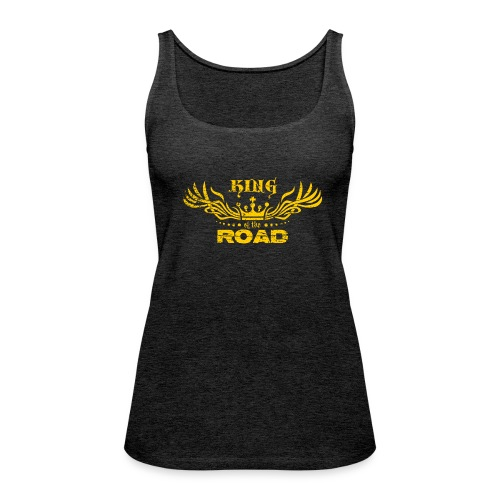 King of the road light - Vrouwen Premium tank top