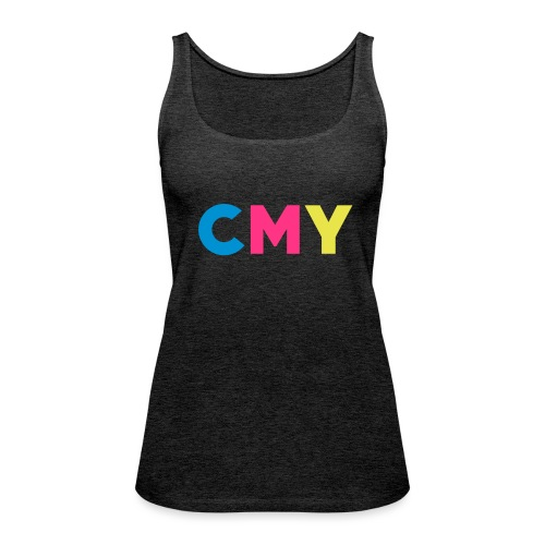 CMYK - Vrouwen Premium tank top