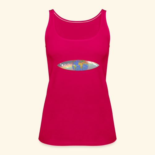 Heal the World - Frauen Premium Tank Top