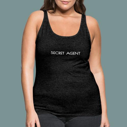 Secret agent - Vrouwen Premium tank top