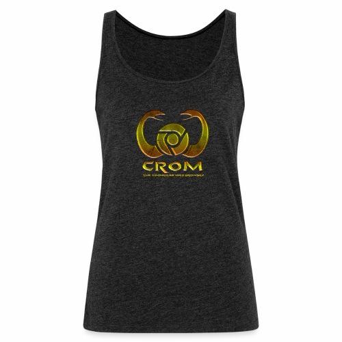 crom - Navegador web - Camiseta de tirantes premium mujer
