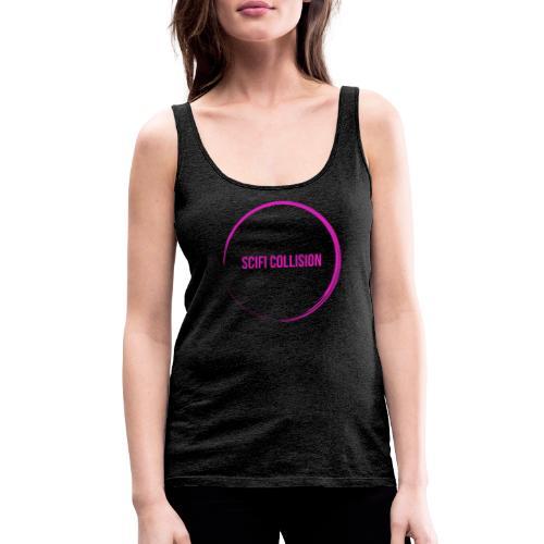 Pink Logo - Women's Premium Tank Top