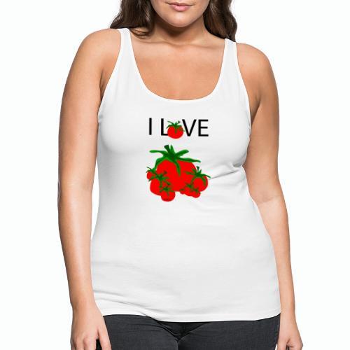 Tomato Love - Frauen Premium Tank Top