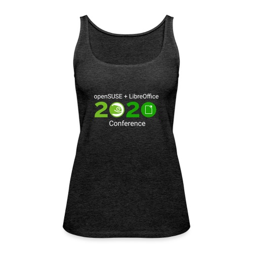 openSUSE + LibreOffice Conference 2020 - Women's Premium Tank Top