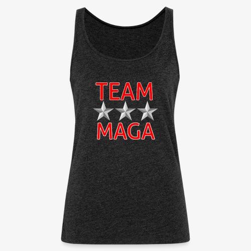 TEAM MAGA - Women's Premium Tank Top