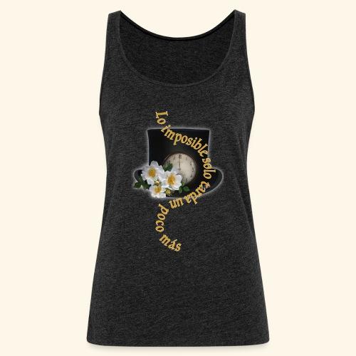 LO IMPOSIBLE - Camiseta de tirantes premium mujer