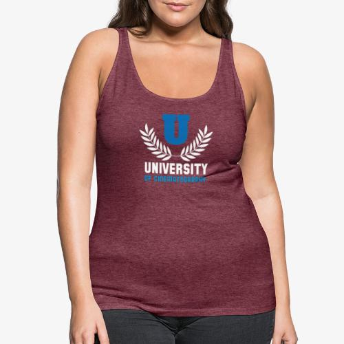 University 5 - Camiseta de tirantes premium mujer
